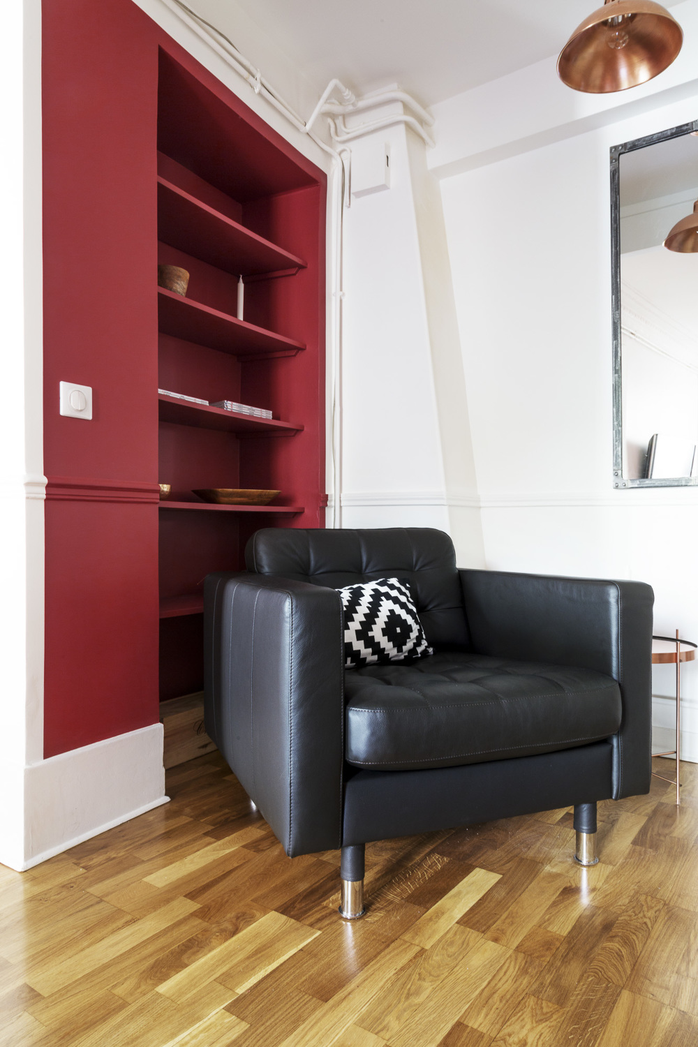 Appartement industriel chic & moderne   carole's interiors