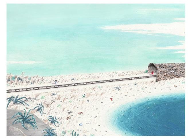 lbum ilustrado sobre el relato corto de italo calvino uel jardn encantadou gouache y acuarela sobre papel xcm personal project